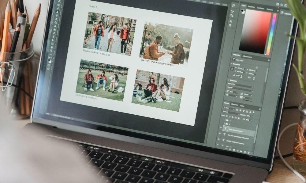 Starter Pack influenceuse logiciel de retouche photo